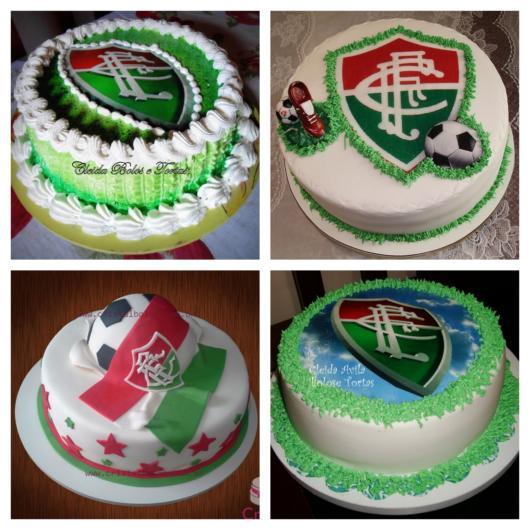 60 versões de bolo do Fluminense + dicas para a sua festa temática