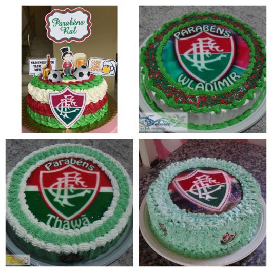 Escolha o melhor padrão de bolo do Fluminense para deixar sua festa deslumbrante!