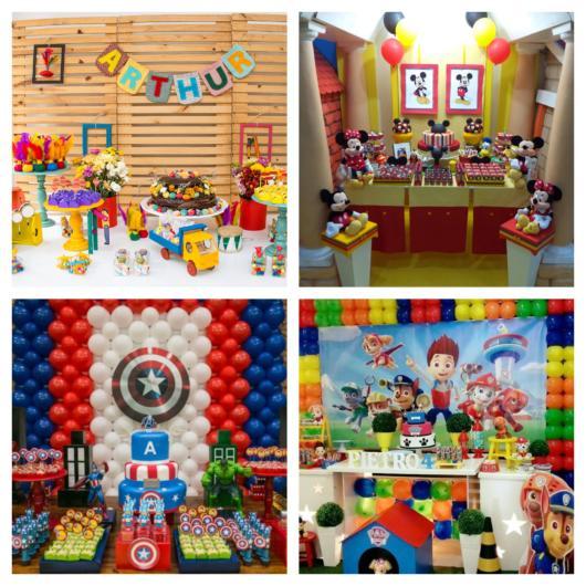 Com uma organização prévia, a festa infantil será um sucesso