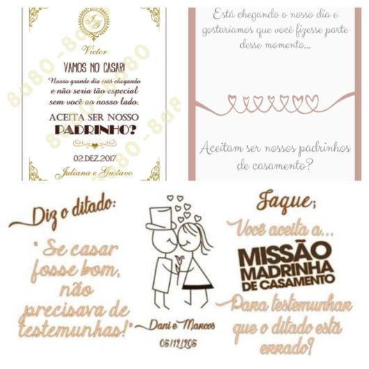 40 textos incríveis e inspiradores para seus padrinhos de casamento