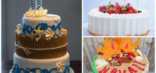 Conheça com a gente muitos modelos de bolo havaiano de pasta americana