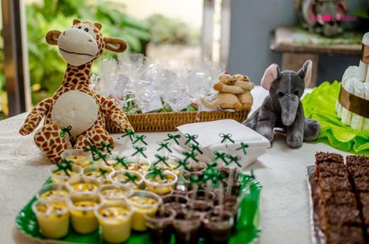 Chá de bebê Safari baby