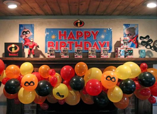 Os balões são perfeitos para complementar a decoração do evento