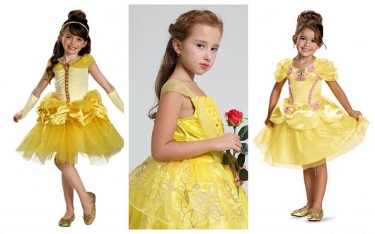 princesa Bela infantil