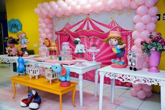 festa circo rosa provençal