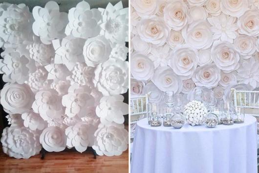 Festa com tema Flores brancas