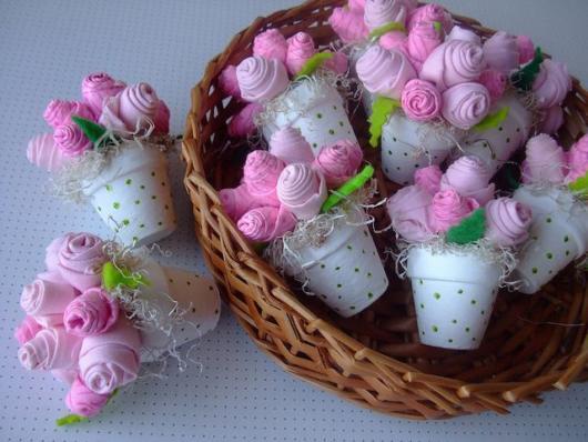 lembrancinha festa tema flores