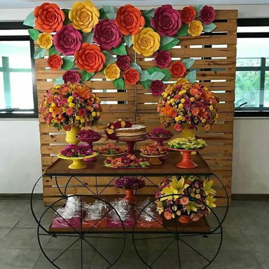 Festa Tema Flores