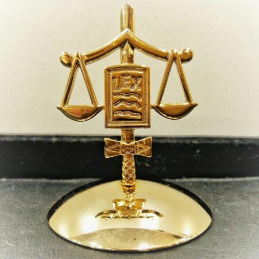 presente para advogado acessórios para mesa