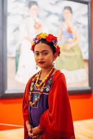 Fantasia frida kahlo: infantil