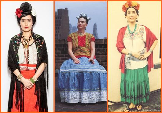 Fantasia frida kahlo: inspirações