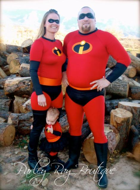 Fantasia em família, uma ótima opção para esse traje