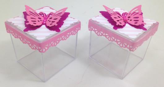 lembrancinhas de borboleta com caixa de resina
