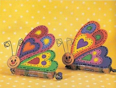 lembrancinhas de borboleta com jujuba