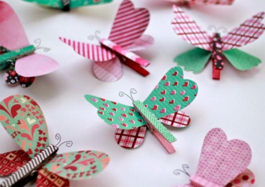 lembrancinhas de borboleta com pegador