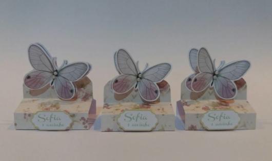 lembrancinhas de borboleta com chocolate bis