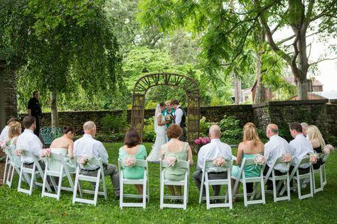 Mini wedding: decoração de cerimonia ao ar livre