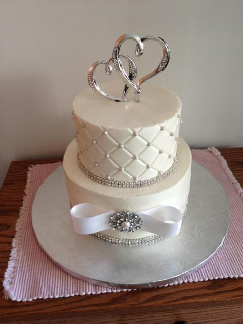 Mini wedding: bolo branco