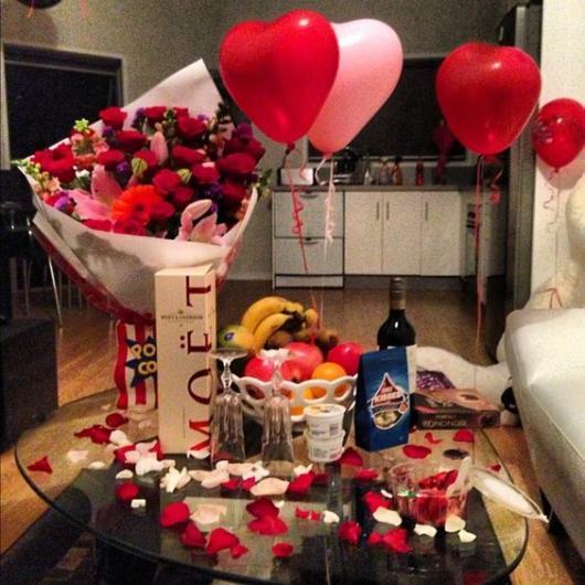Surpresa para namorada: aniversário