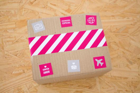 Surpresa para namorada: presente em caixa personalizada