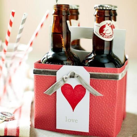 Surpresa para namorada: simples caixa de cerveja