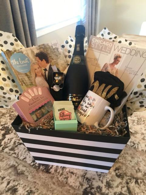 Surpresa para namorada: caixa surpresa com mimos