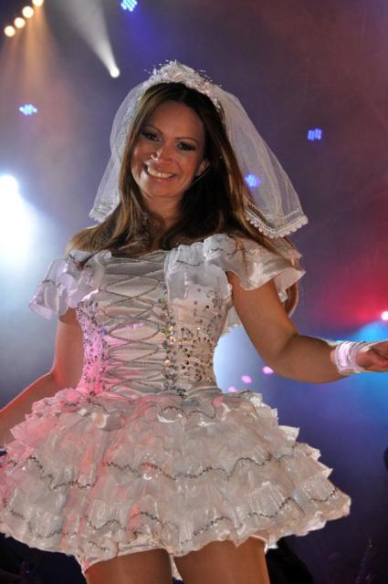 Vestido de festa junina: noiva