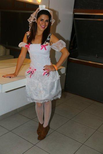 Vestido de festa junina: noiva curto