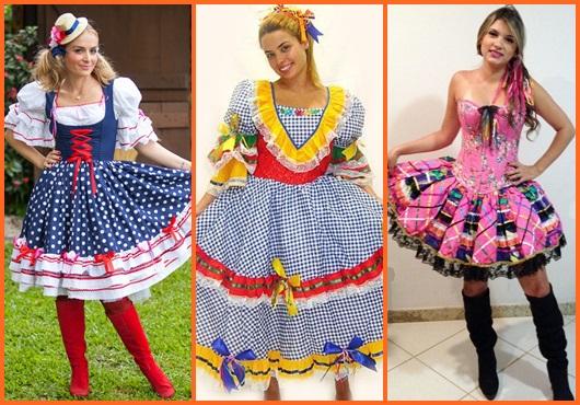Vestido De Festa Junina 70 Ideias Perfeitas Para Usar Na