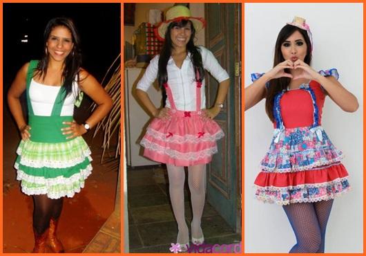 Vestido de festa junina: inspirações