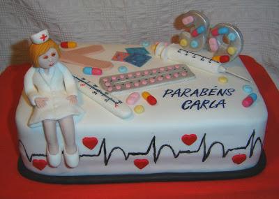 Parabéns para enfermeira