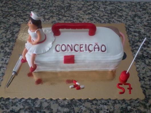 Veja dica de bolo temático para enfermeiros