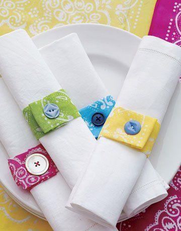 modelo de tecido com botão