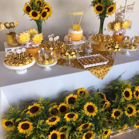Festa Girassol com muitas flores!