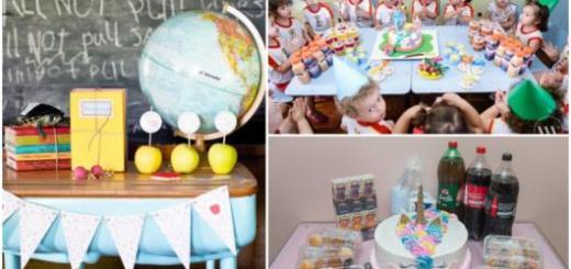 Três ideias de festinha de aniversário na escola