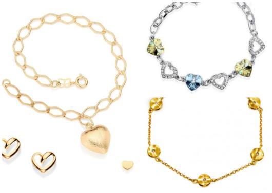 pulseiras de variadas cores, bem como materiais