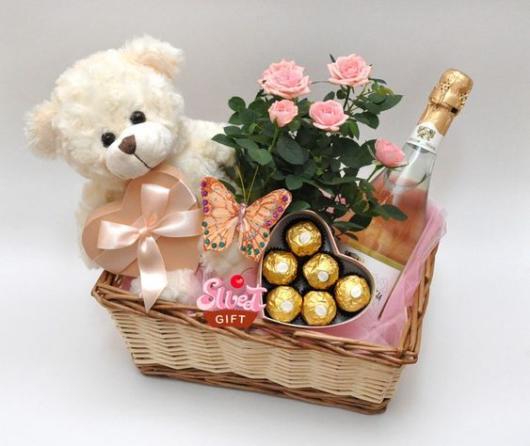cesta dia das mães