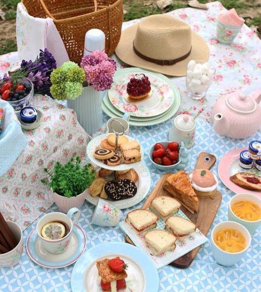 decoração picnic