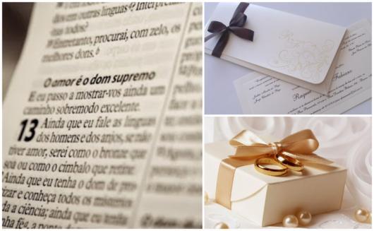 versículos para convites de casamento