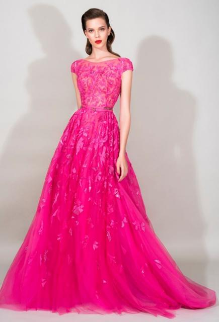 Vestido rosa pink de festa para madrinhas