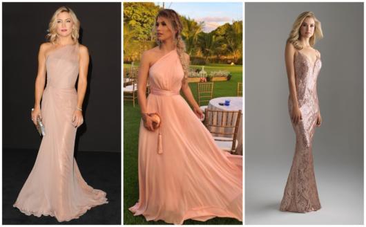 vestidos longos rosas para madrinhas