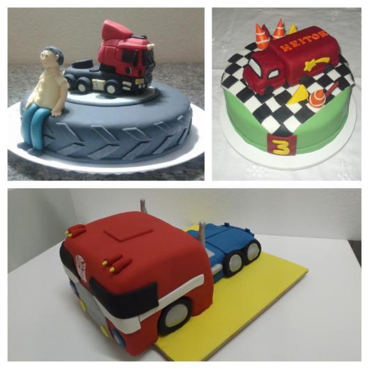 50 ideias de bolo de caminhão + ótimas dicas