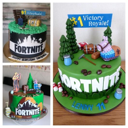 Escolha o padrão do bolo de acordo com o perfil do aniversariante e o número de convidados