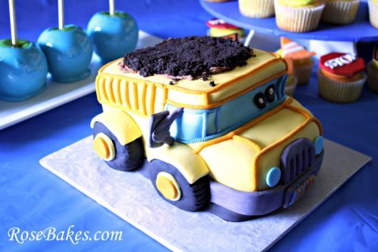 bolo de caminhão