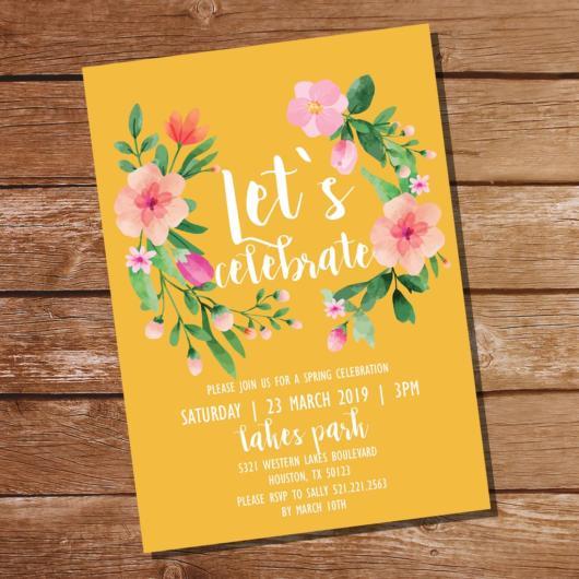 convite primavera digital