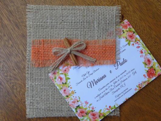artesanato para convite primavera
