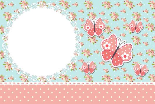 arte template convite primavera