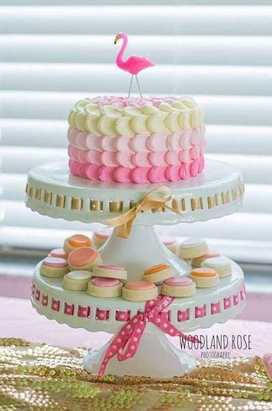 topo decorativo para bolo tropical