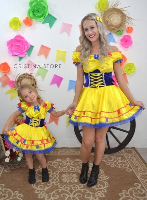 Vestido De Festa Tal Mãe Tal Filha 70 Ideias Super