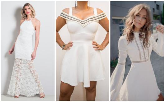 vestidos para ensaio dos noivos